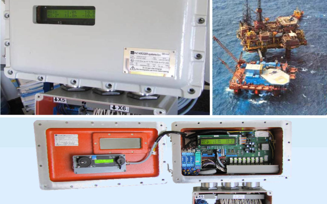Atex (Ex) Crane load moment safety system & datalogging