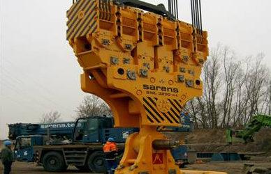 Sarens SGC120 crane