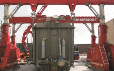 Transformer weighing