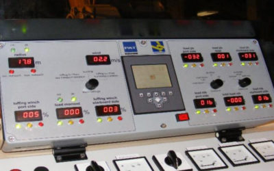 Sheerleg controll system