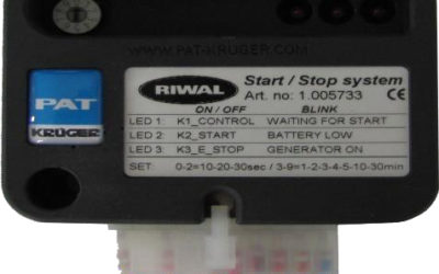 Riwal start and stop system